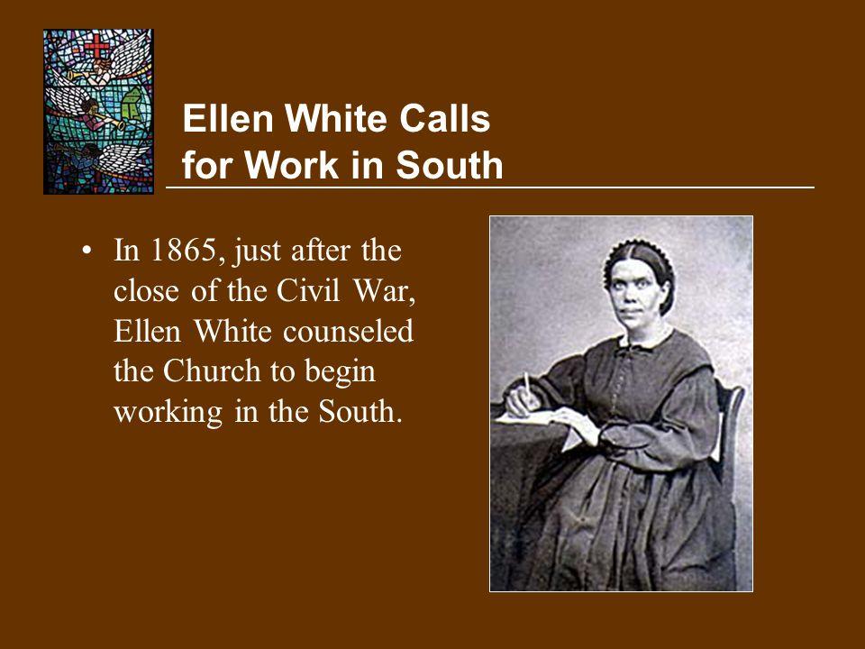 Ellen White Calls for Work in South