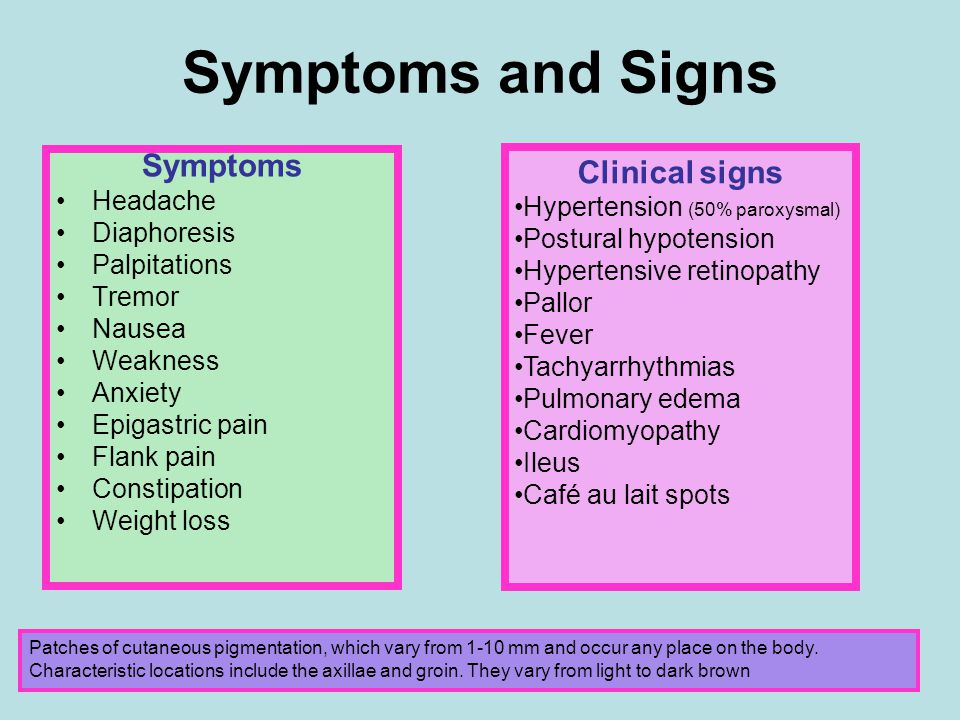 Symptoms and Signs Symptoms Clinical signs Headache