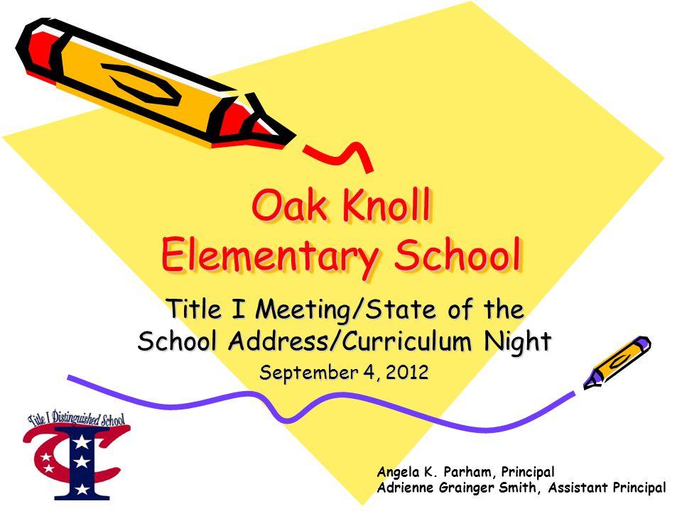 Oak Knoll Elementary School