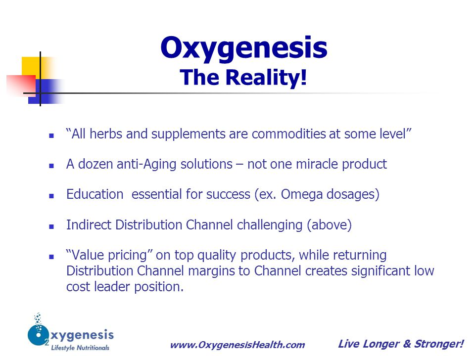 Oxygenesis The Reality!