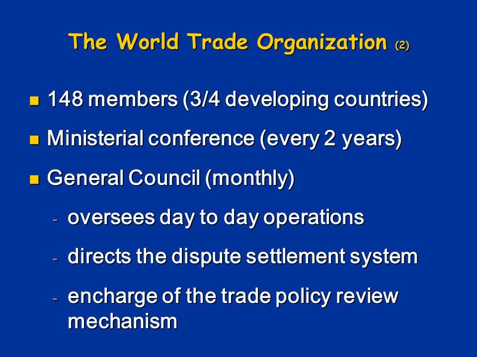 The World Trade Organization (2)