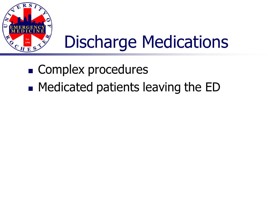 Discharge Medications