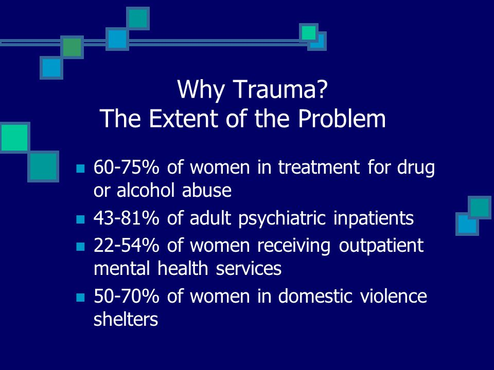 Why Trauma The Extent of the Problem
