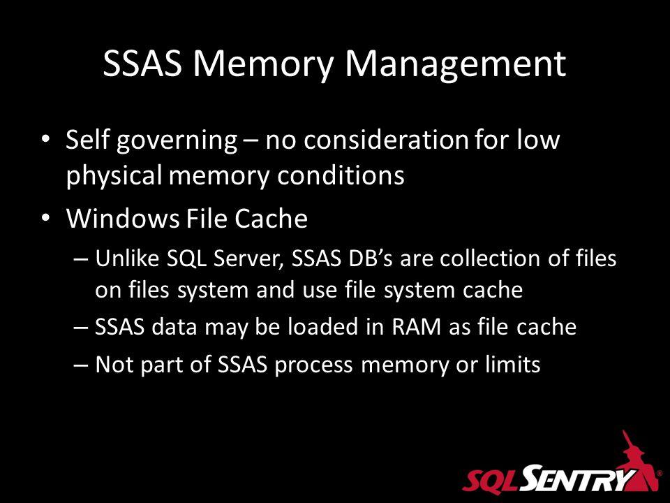 SSAS Memory Management