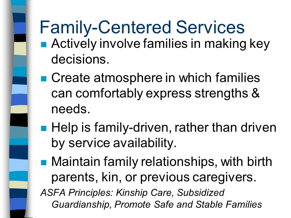 Family-Centered Services