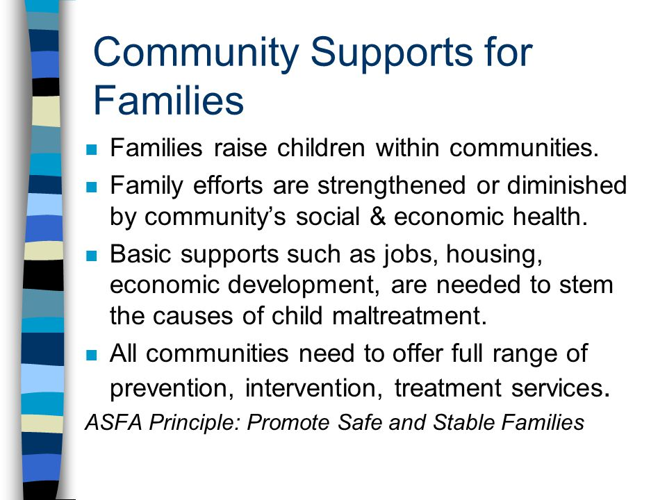 Community Supports for Families