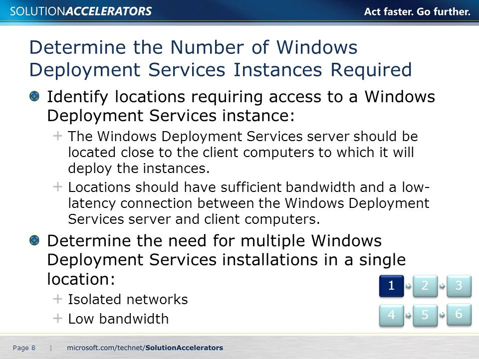 Determine the Number of Windows Deployment Services Instances Required