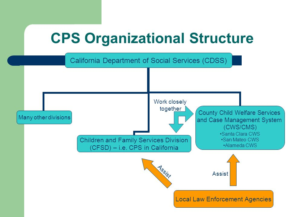 CPS Organizational Structure