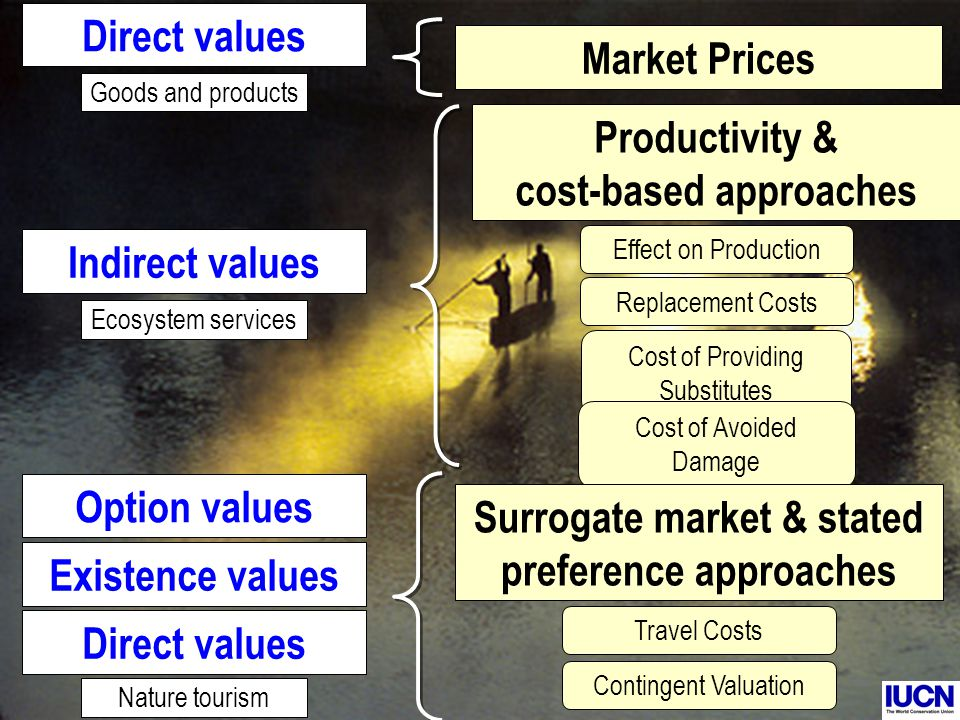 Productivity & cost-based approaches