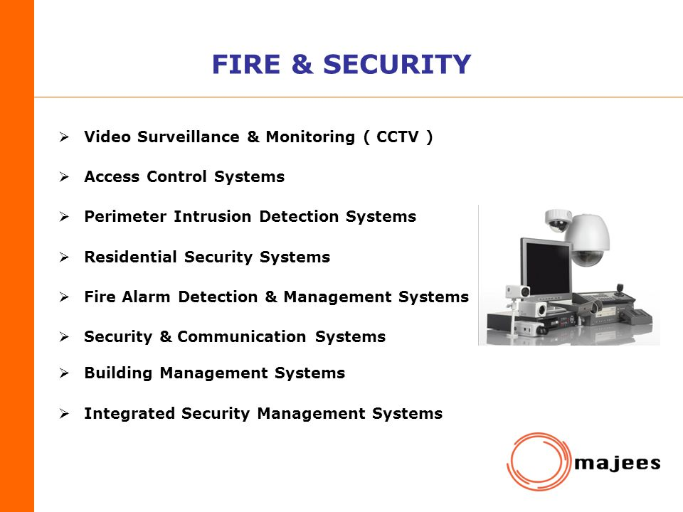 FIRE & SECURITY Video Surveillance & Monitoring ( CCTV )