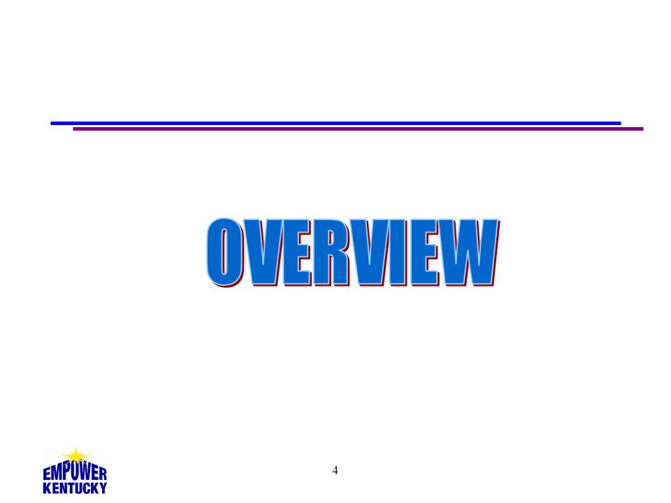 OVERVIEW 4