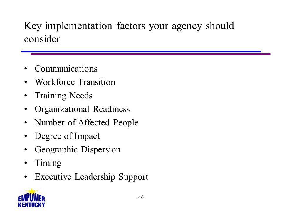 Key implementation factors your agency should consider