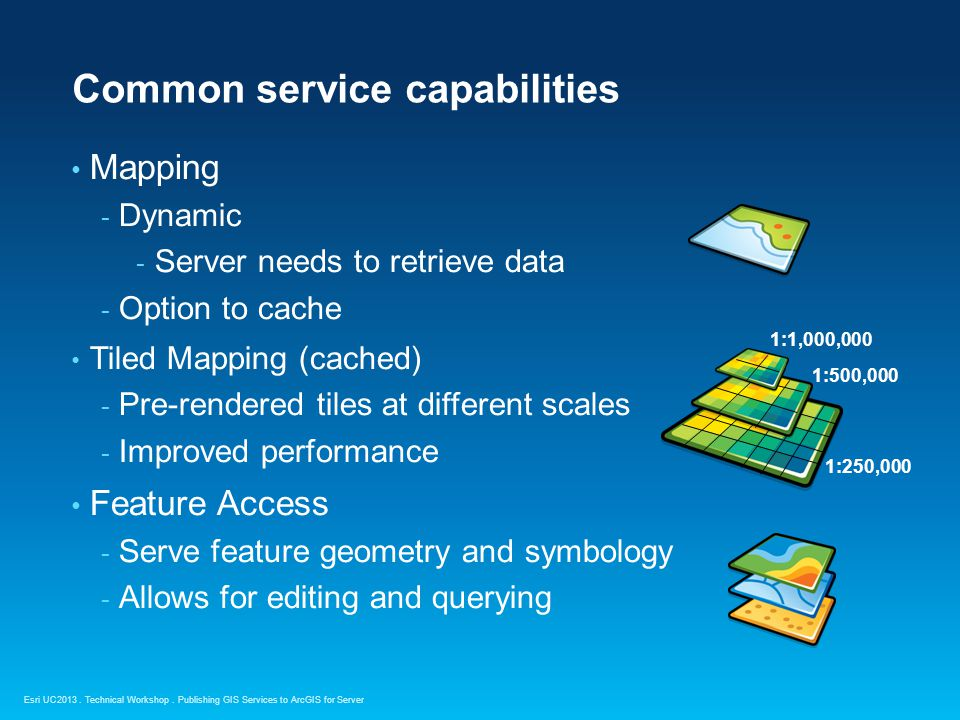 Common service capabilities