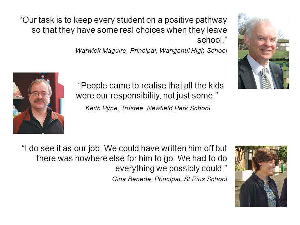 Keith Pyne, Trustee, Newfield Park School
