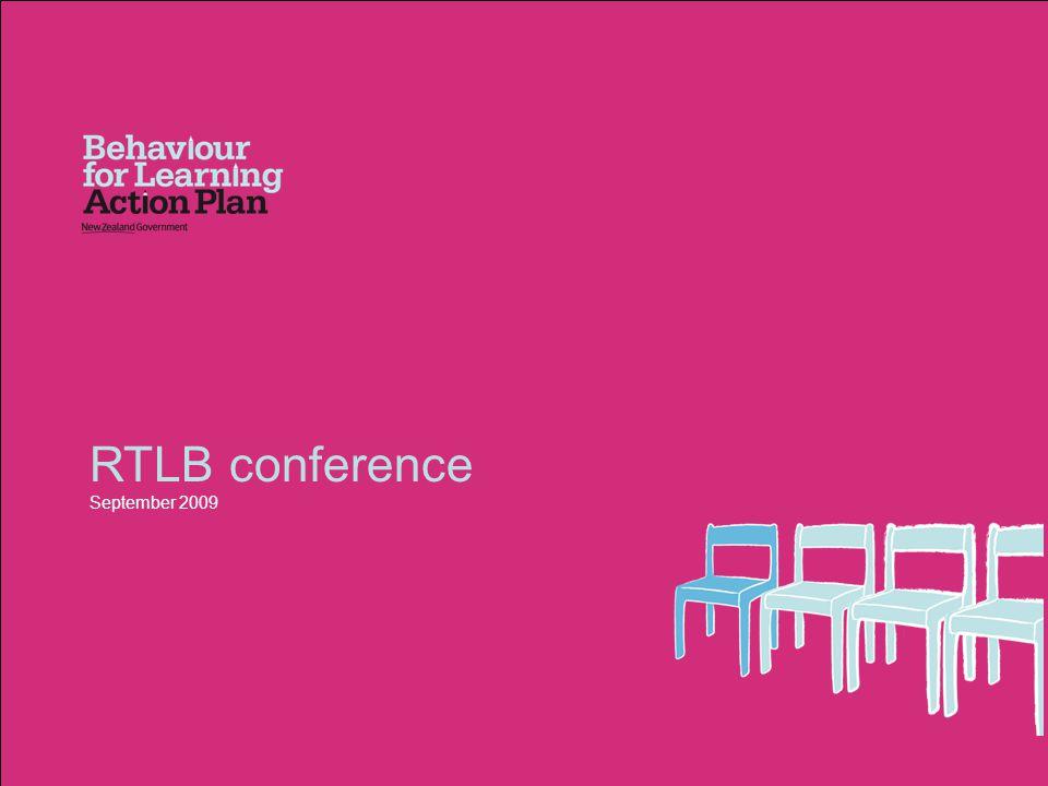 RTLB conference September 2009