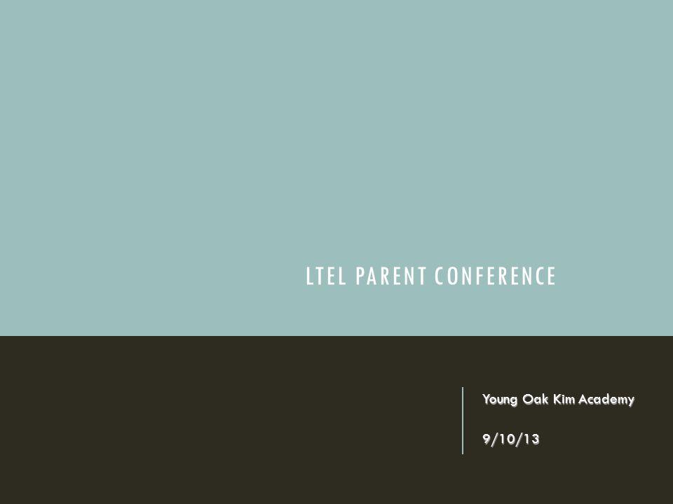 LTEL Parent Conference