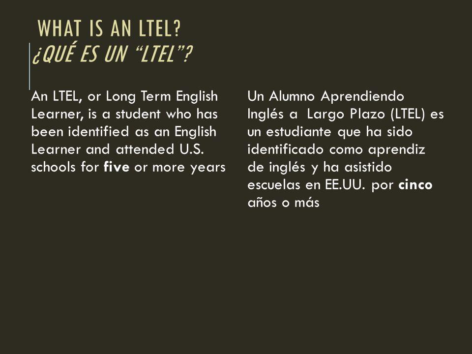 What is an LTEL ¿Qué es un LTEL