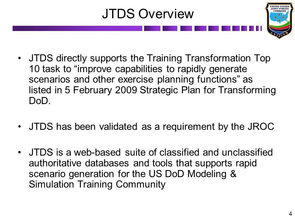 JTDS Overview