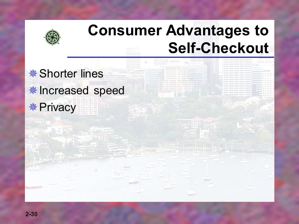 Consumer Advantages to Self-Checkout