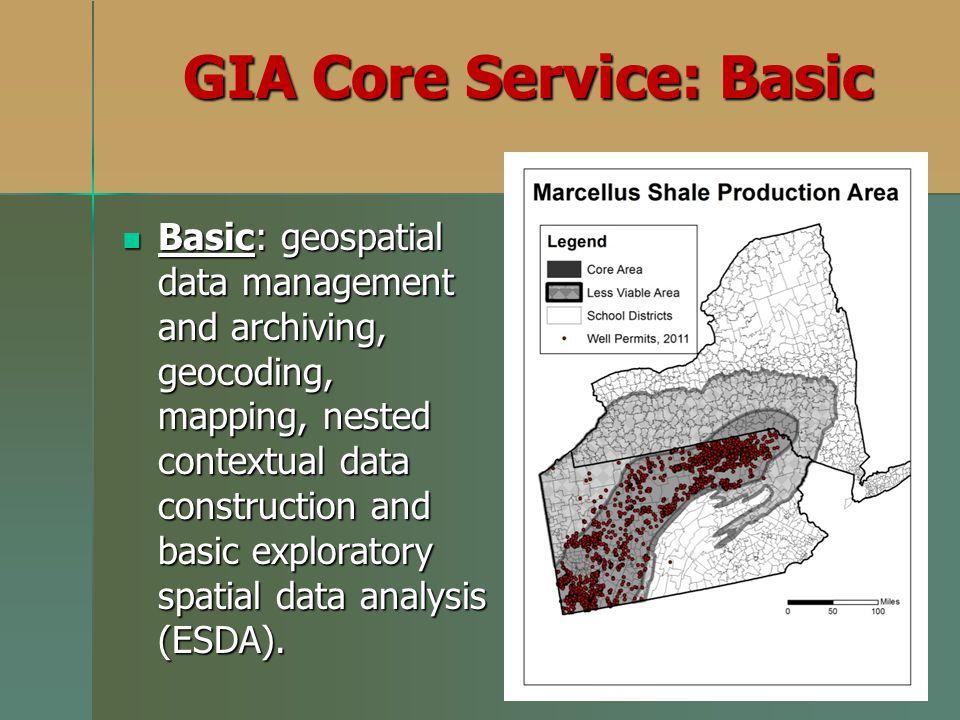 GIA Core Service: Basic