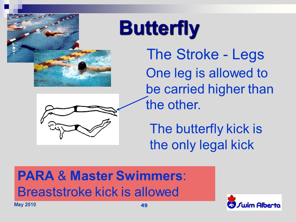Butterfly The Stroke - Legs