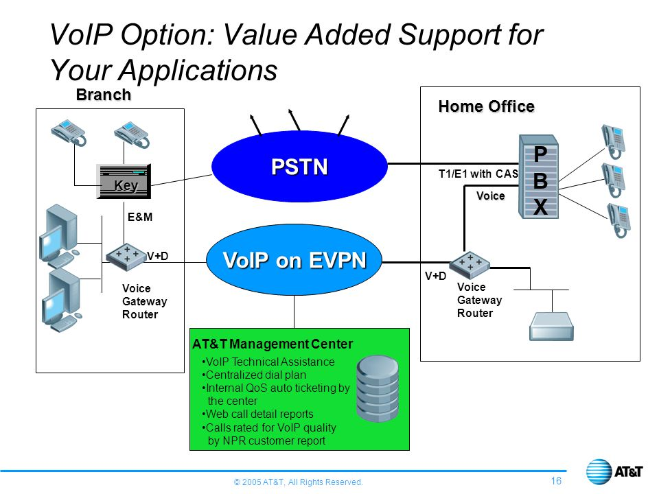 VoIP Option: Value Added Support for Your Applications