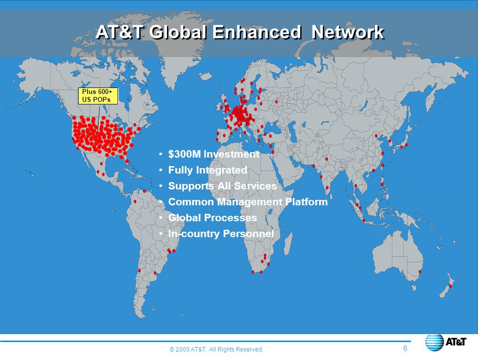AT&T Global Enhanced Network