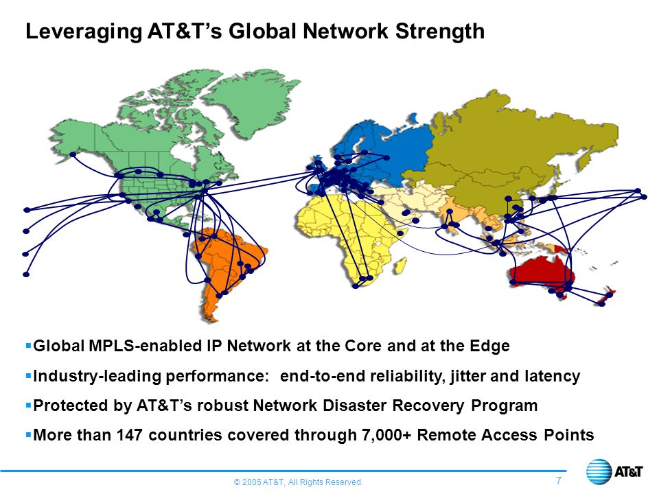 Leveraging AT&T's Global Network Strength