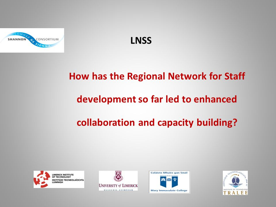How has the Regional Network for Staff