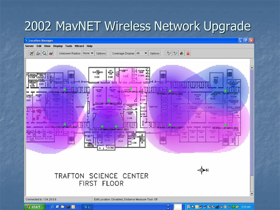 2002 MavNET Wireless Network Upgrade