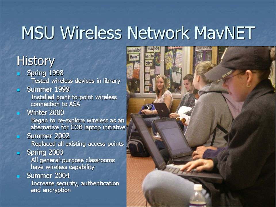 MSU Wireless Network MavNET