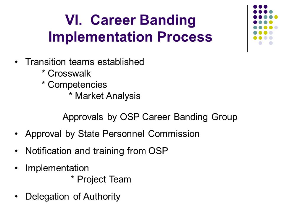 VI. Career Banding Implementation Process