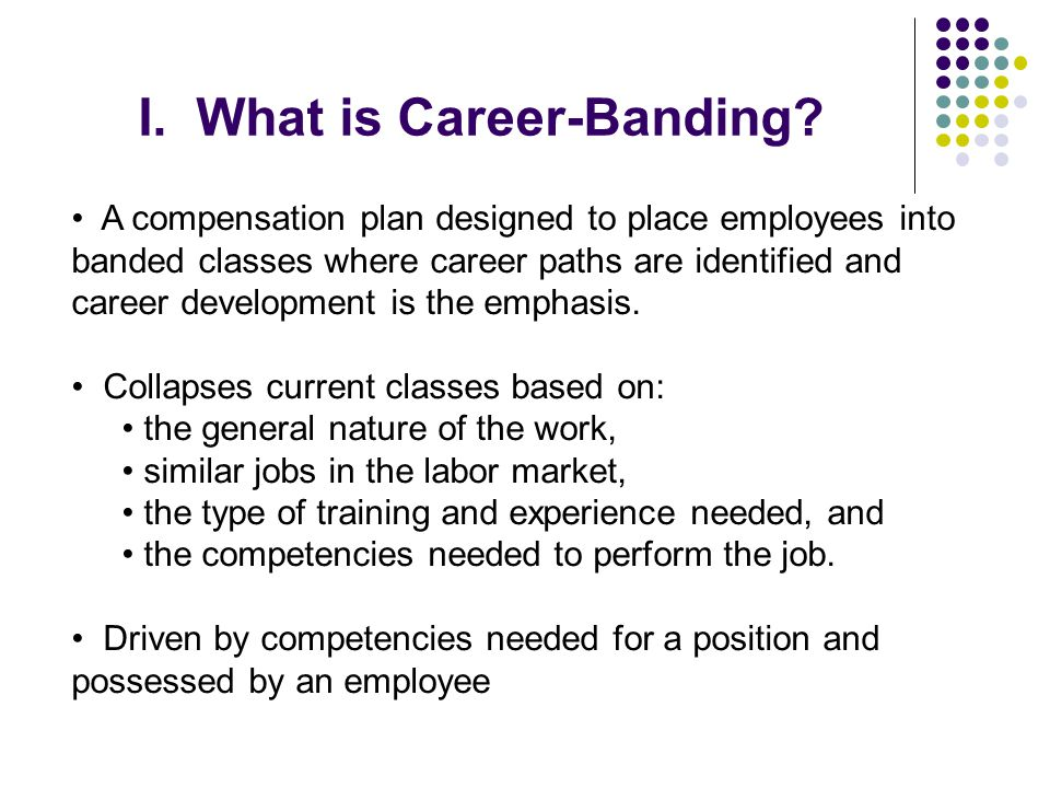 I. What is Career-Banding
