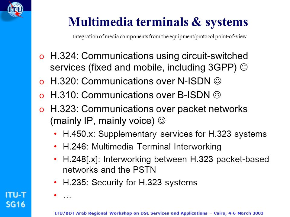 Multimedia terminals & systems