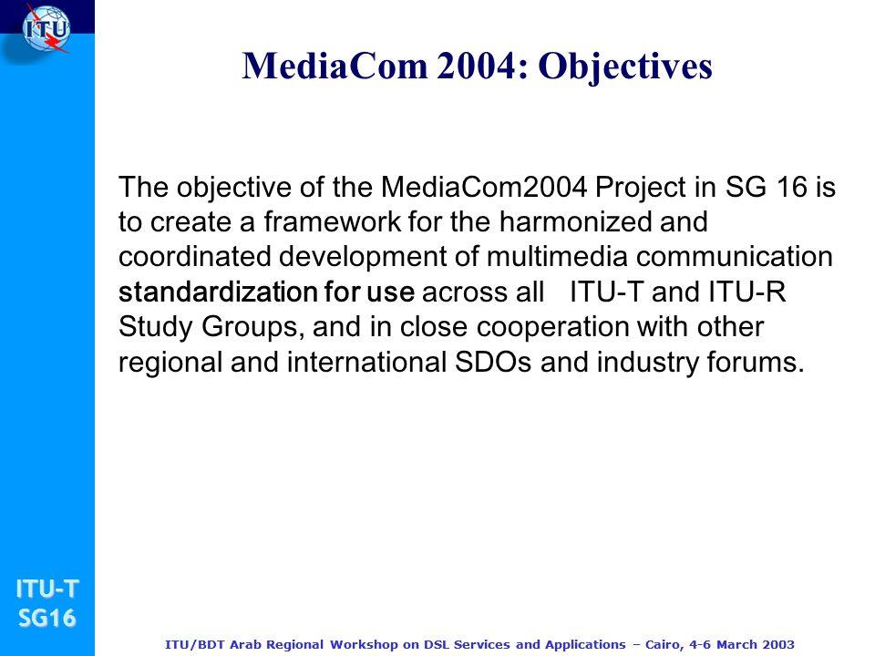 MediaCom 2004: Objectives