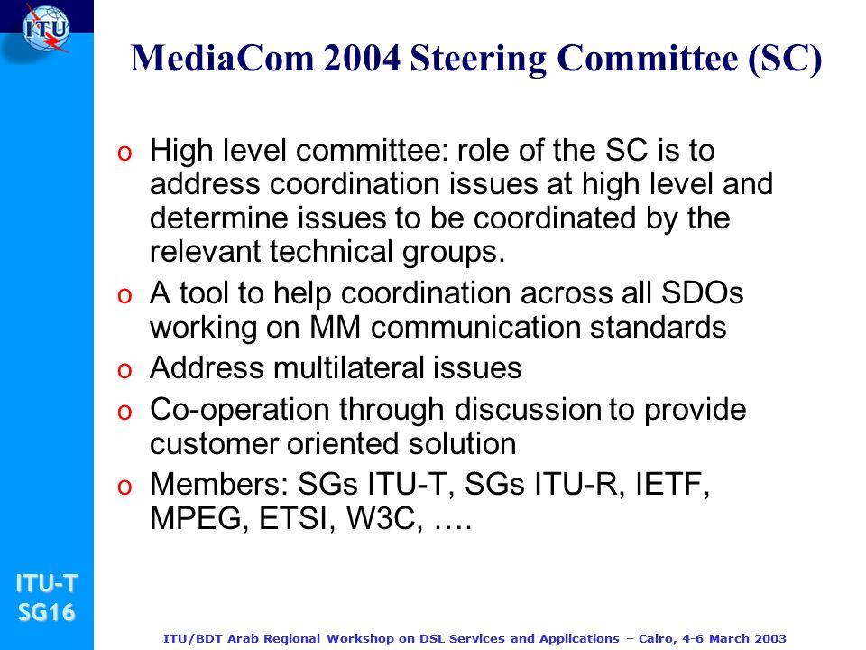 MediaCom 2004 Steering Committee (SC)