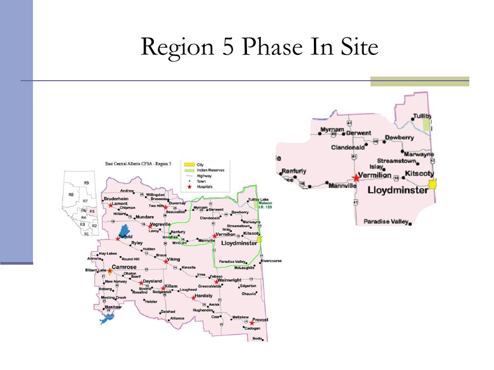 Region 5 Phase In Site