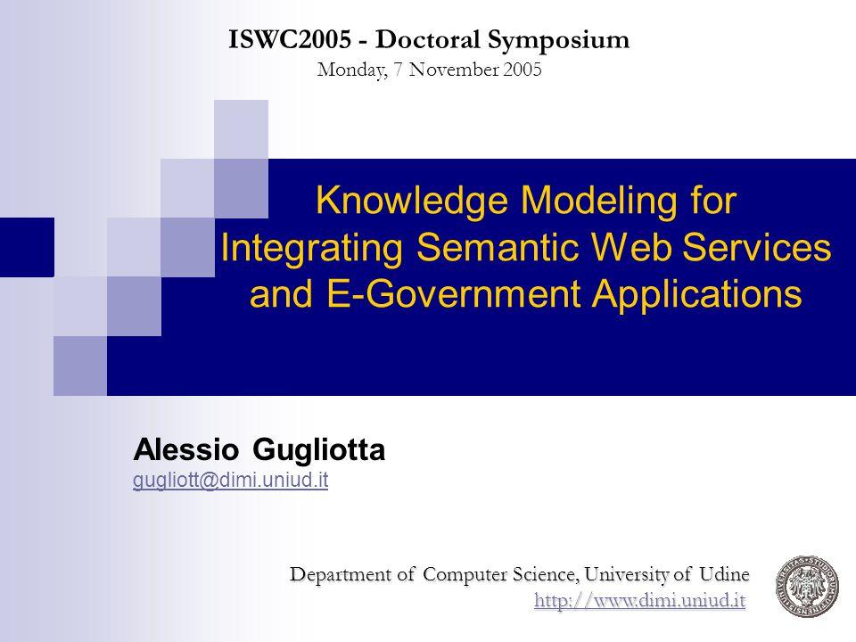 Alessio Gugliotta gugliott@dimi.uniud.it