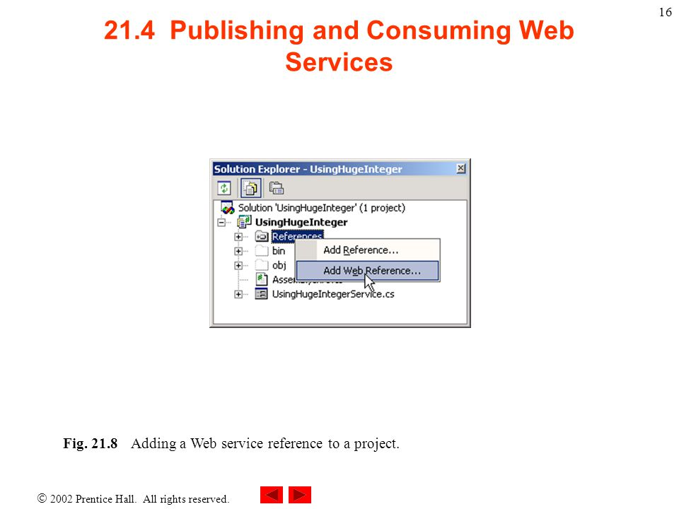 21.4 Publishing and Consuming Web Services