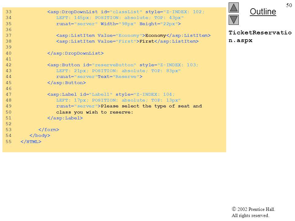 33 <asp:DropDownList id= classList style= Z-INDEX: 102;