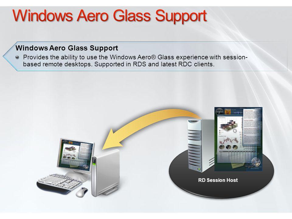 Windows Aero Glass Support