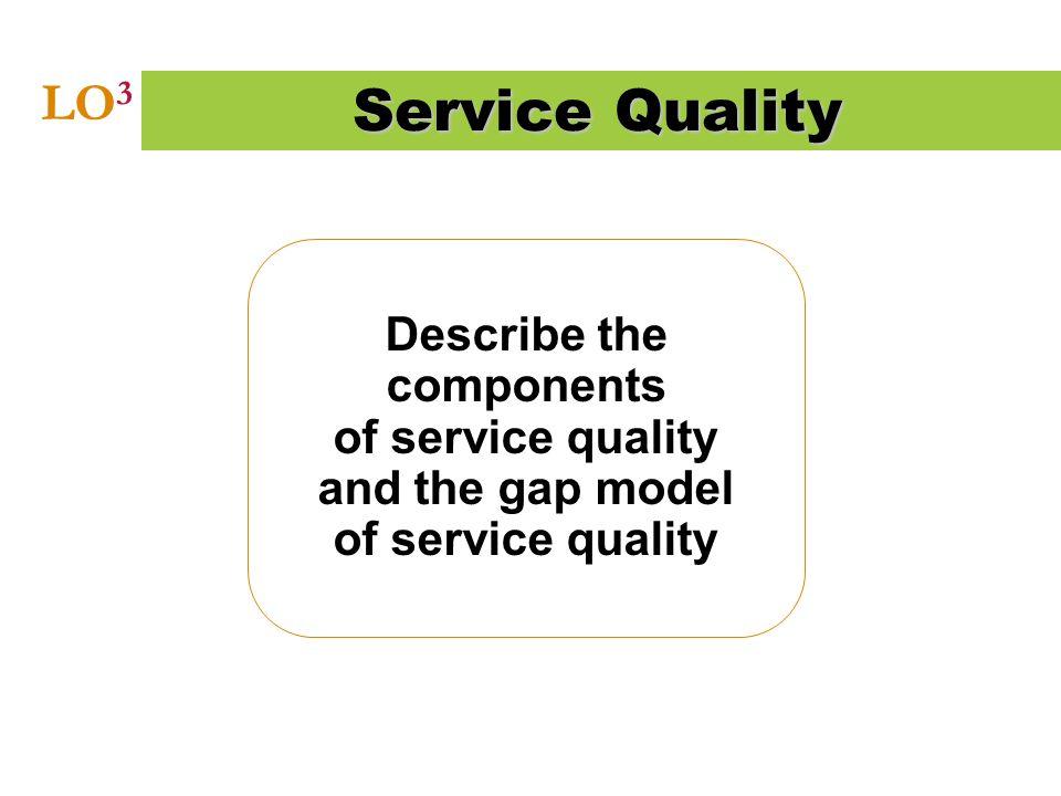 Service Quality LO3.