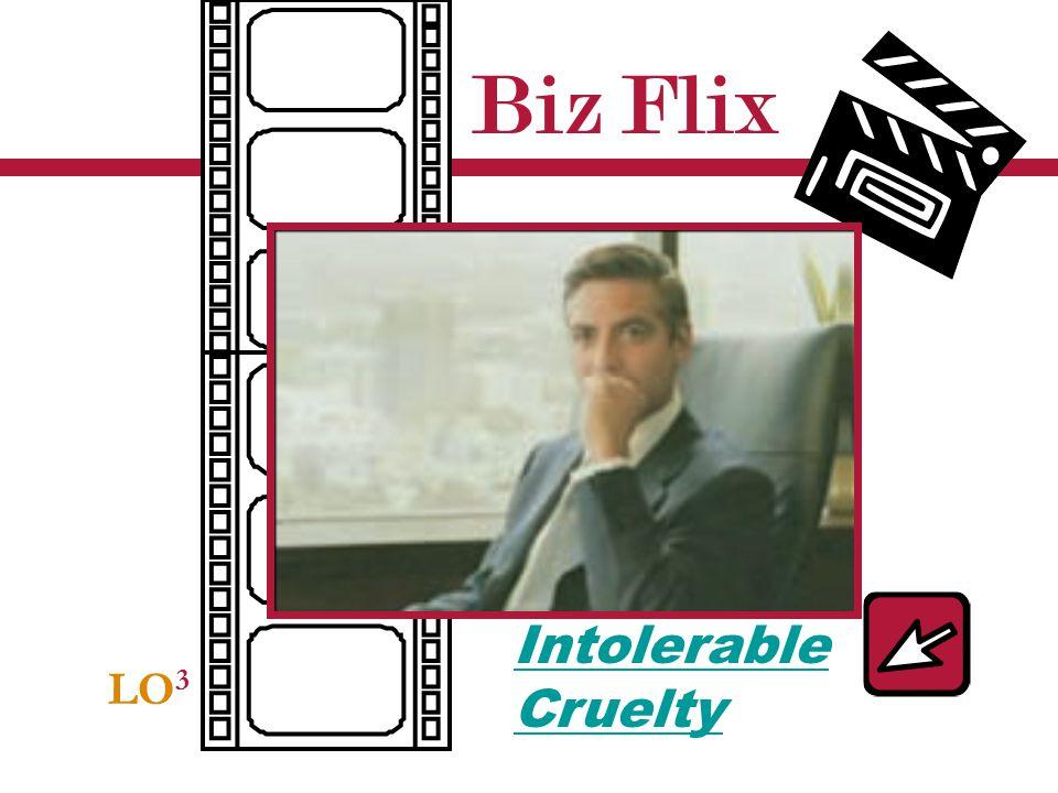 Biz Flix Intolerable Cruelty LO3