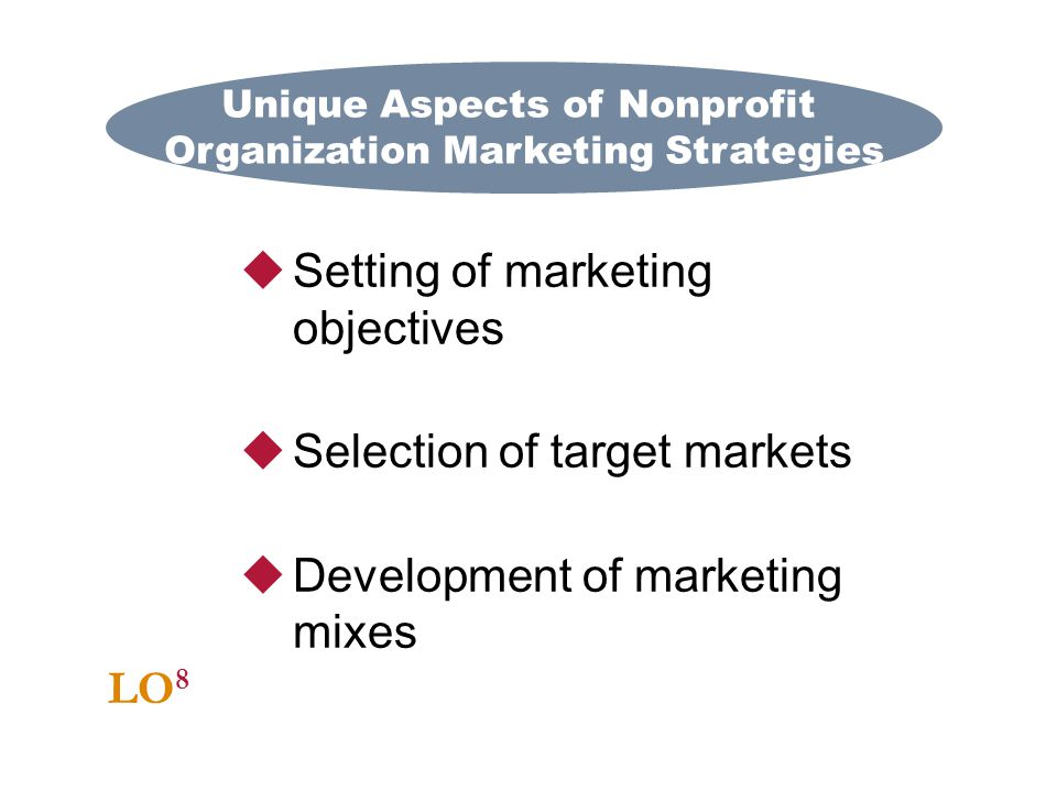 Unique Aspects of Nonprofit Organization Marketing Strategies