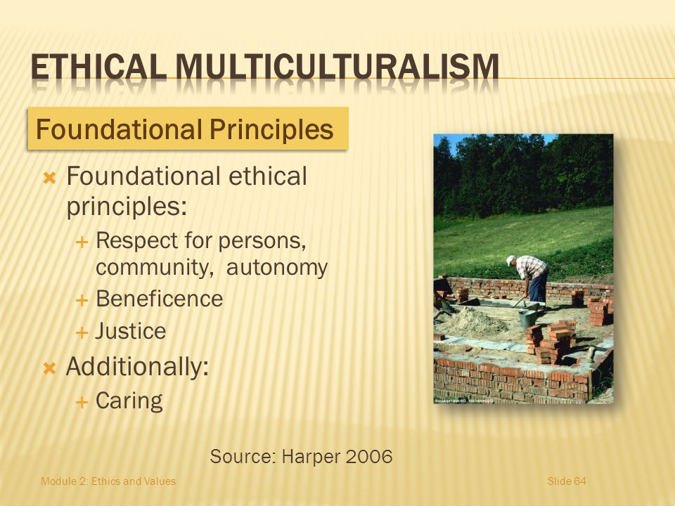 ETHICAL MULTICULTURALISM
