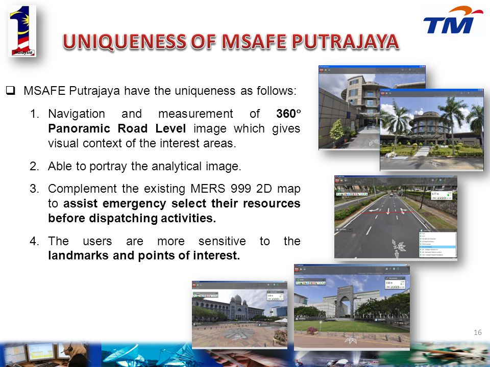 UNIQUENESS OF MSAFE PUTRAJAYA