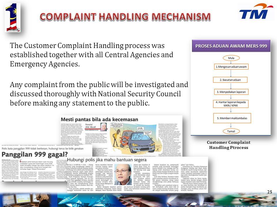 Customer Complaint Handling Ptrocess