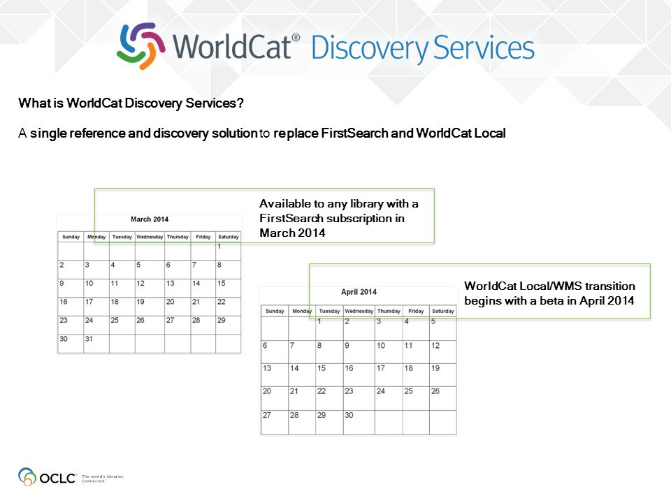 What is WorldCat Discovery Services
