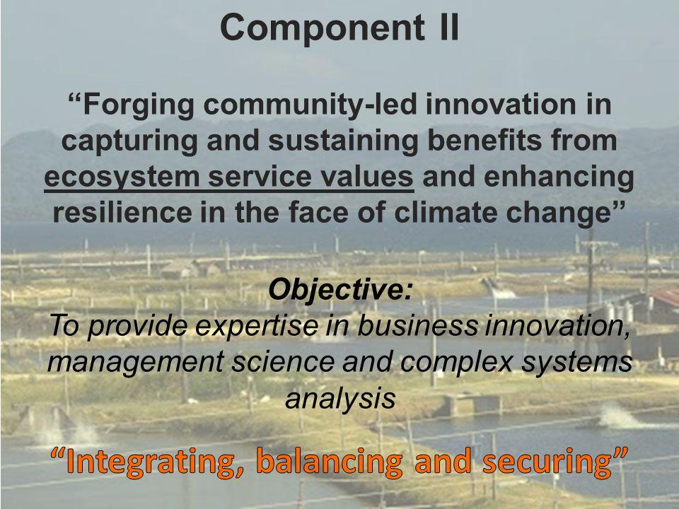 Integrating, balancing and securing