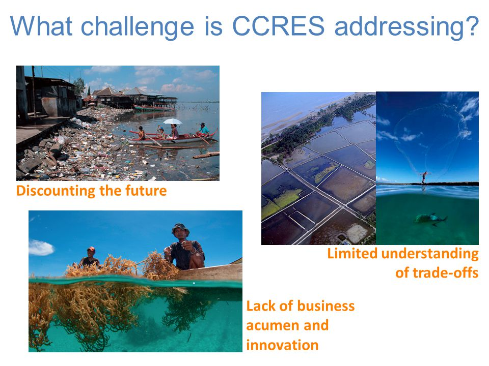 What challenge is CCRES addressing